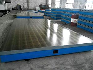 铸铁定盘-机床定盘-定盘平台